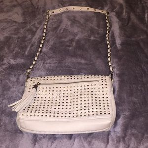 Handbags - Crossbody purse with stud detail